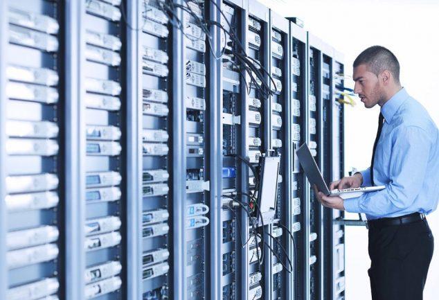 Maintenance du serveur par un ingénieur