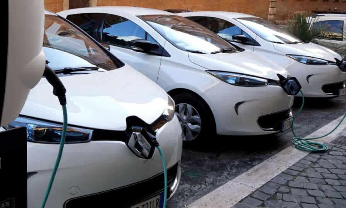 Rechargement des voitures électriques