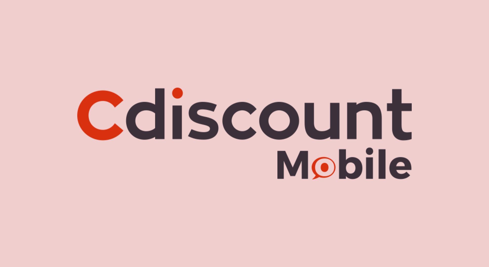 Le forfait moins cher de Cdiscount mobile