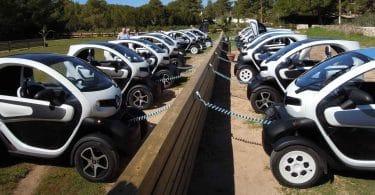 De nouvelles voitures électriques en France