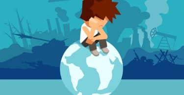 enseignement du changement climatique aux enfants